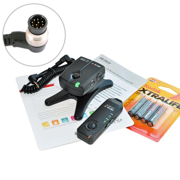 2,4 Ghz Déclencheur à Distance Déclencheur Compatible Avec Nikon D800 D700 D300... (w. Mc-30)
