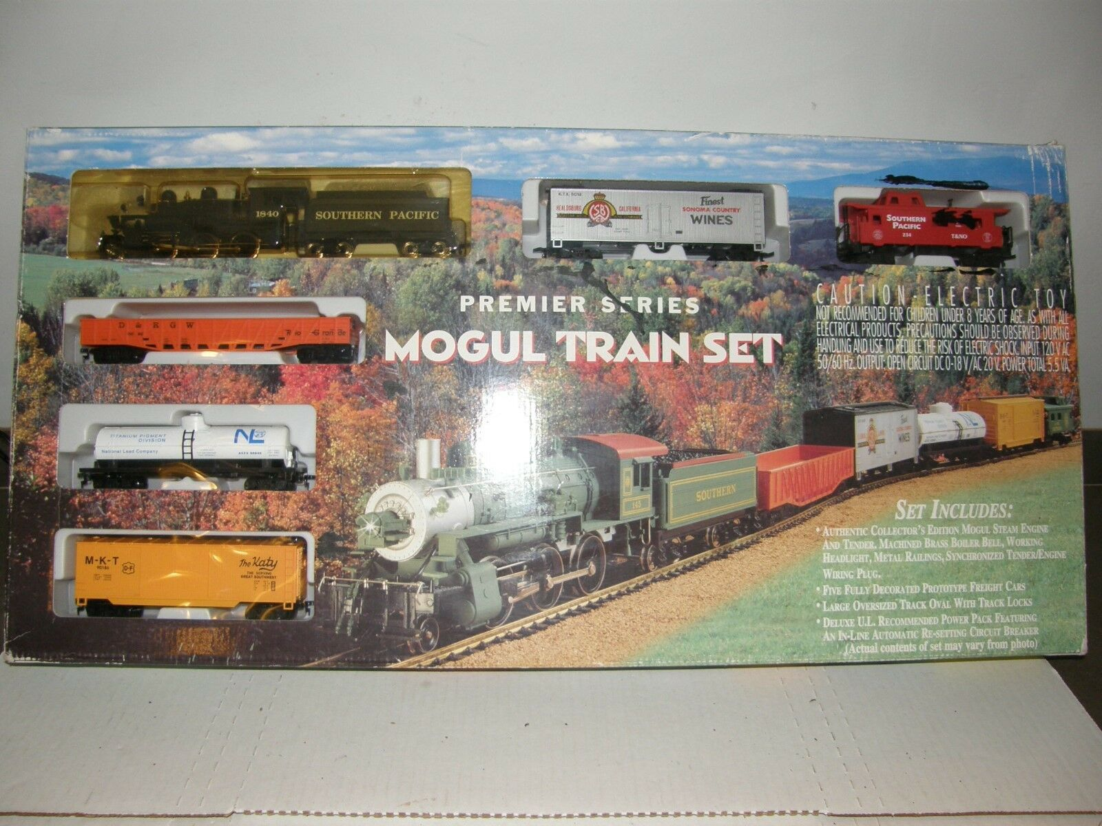 IHC HO 311 Mogul Train Set Southern Pacific 5 - Cars