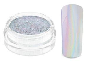Nailart Mirror Chrome Unicorn Puder Einhorn Nagel Hologramm Pulver Pigment UVGel