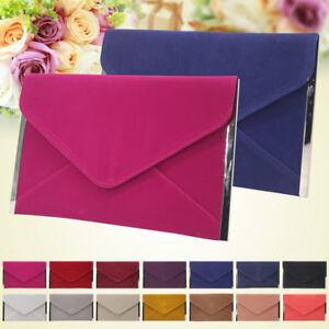 Evening-Handbag-Clutch-Wedding-Cocktail-Party-Bag-Metallic-Envelope-Wallet-Purse