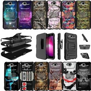 super popular 956fa 508f4 Details about For LG X Power 2, LG Fiesta LTE Case Rugged Holster Clip  Stand Cover Camos