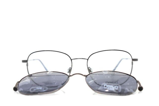 FLEXON Eyeglasses BENJAMIN 600 001 Black Chrome 54MM