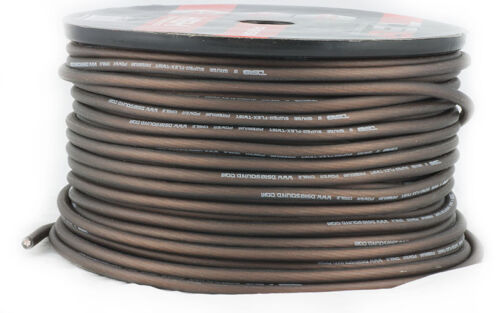 20/'ft 8 Gauge Super Flex Audio Power Wire Ground Cable AWG AMP Ga Amplifier feet