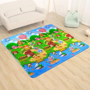 2x1-8M-Baby-Kids-Floor-Play-Mat-Rug-Picnic-Cushion-Crawling-Mat-Waterproof-AU