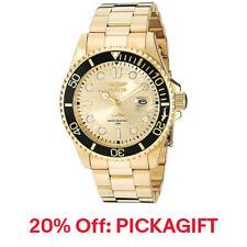 Invicta Men's Pro Diver Watch Quartz Champagne Dial Gold Tone 20% off PICKAGIFT