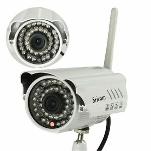 HD 720P IR-Cut Sricam AP009 IP Camera Wifi Outdoor Motion Detection video USA BH