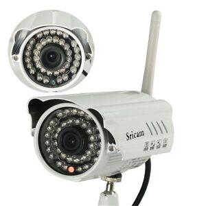 HD 720P IR-Cut Sricam AP009 IP Camera Wifi Outdoor Motion Detection video USA BH