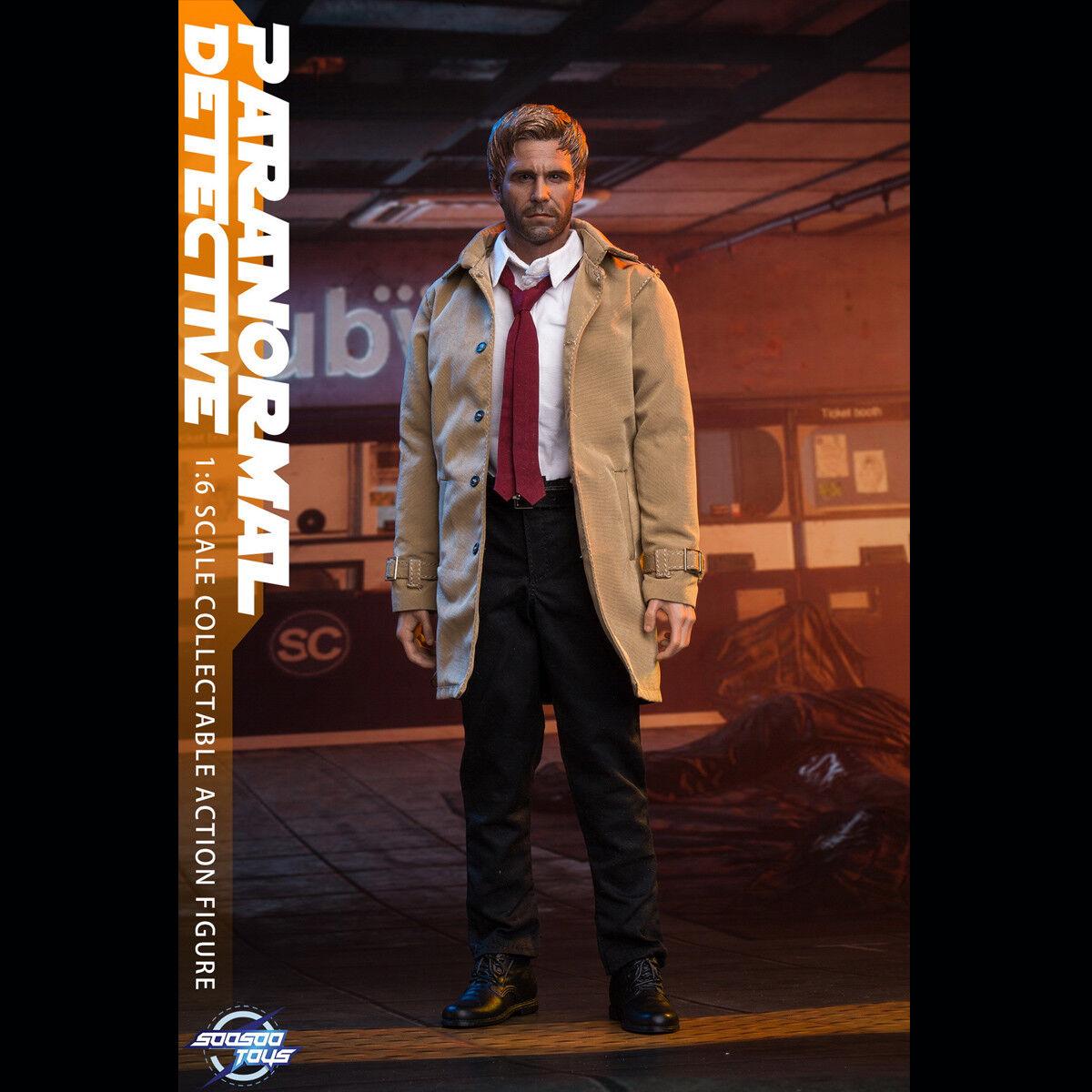 SoosooJuguetes SST-007 1 6 Escala Figura De Acción Coleccionable Paranormal Detective