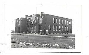 Cochrane-District-COCHRANE-ONTARIO-Post-Office