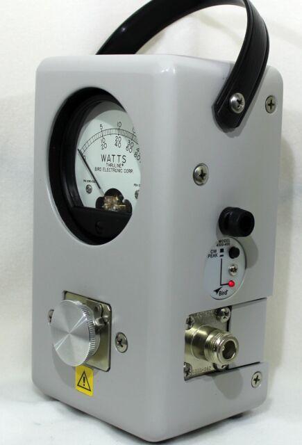 Bird 43 Thruline Wattmeter Meter Element 4300-400 Peak PEP Kit NEW