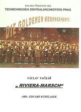 Blasmusiknoten Riviera Marsch