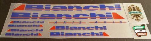 Bianchi Bicycle Restoration Decal Set sku Bian103