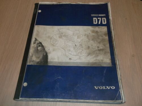 21A1000098 Volvo Service Manual Engine  D7D