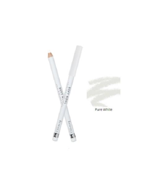 RIMMEL SOFT KOHL WHITE PENCIL EYELINER 071 PURE WHITE *BRAND NEW*