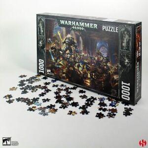 Warhammer-40K-Puzzle-Gulliman-vs-Black-Legion-1000-Teile-Semic