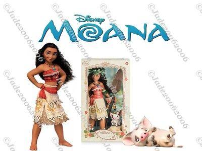 "Disney Moana Limited Edition 17"" Doll"