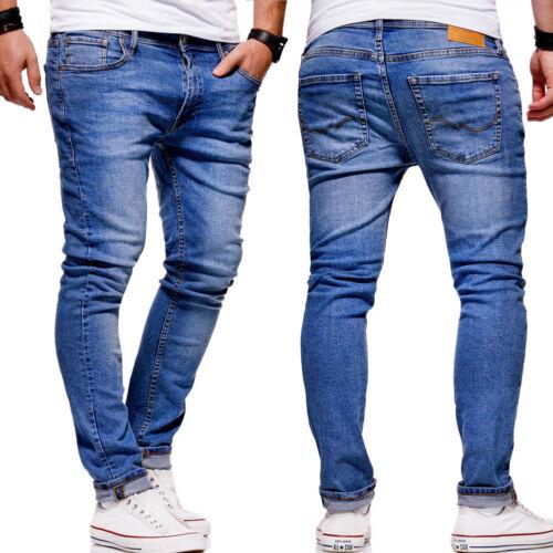 Jack /& Jones Jeans Hose LIAM Slim Fit Röhrenjeans Chinohose Herrenjeans NEU
