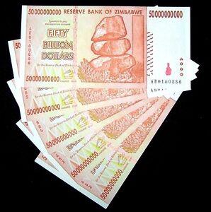 50 Billion Dollar Banknotes Paper Money