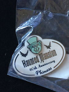 Disney-DLR-Haunted-Mansion-40th-Anniversary-Cast-Member-Phineas-Pin-SEALED