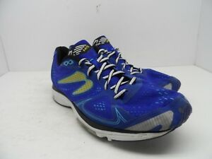 44c7e5c99d86 Newton Running Men s Fate II Running Shoes Blue White Red Size 12M ...