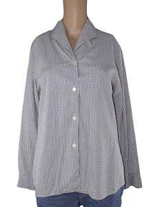 sisley-relaxed-elegance-camicia-donna-grigio-made-italy-taglia-it-42-m-medium