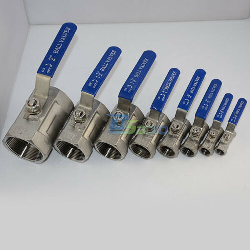 Ball-Valve-1Pc-Threaded-Female-Stainless-Steel-SS-316-BSPT-CF8M-8-Sizes-quality