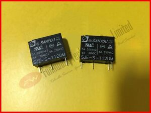 Sanyou SRD-S-112D Mini Potenza Relè 12V DC