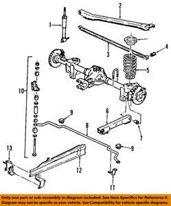 gm oem rear torque arm bracket 10269129 ebay rh ebay com 1980 Pontiac Firebird 1980 Pontiac Firebird