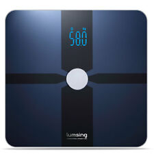 Bluetooth Digital Bathroom Smart Scale Body Weight Fat BMI Bone for iOS Android