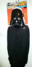 Star Wars Darth Vader Mask & Cape  Kids 6+  NWT