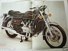 A028-POSTER HONDA GL1000 GOLDWING MOTORCYCLE 1978 MODEL MOTORRAD