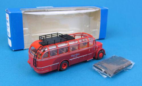 "Roco H0 1601 SAURER KOMET Bus Salzburg /""Salzkraft/"" Reisebus HO 1:87 OVP"