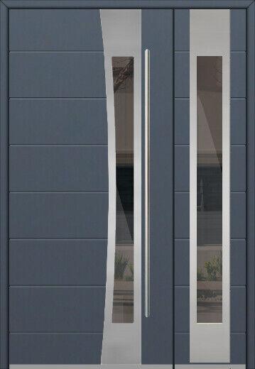 Fargo 23 Db Stainless Steel Double Door Exterior Front Entry Door For Sale Ebay