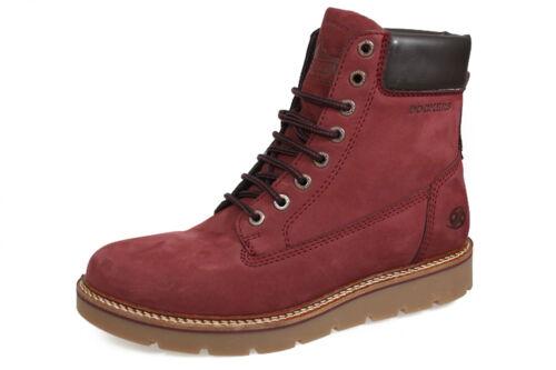 Gerli Schnürstiefelette Boots Neu By Damen Dockers Aus 300 41ju201 Leder Stiefel wOpF5q