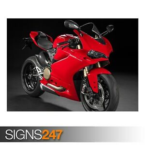 DUCATI-1299-PANIGALE-AE177-Photo-Picture-Poster-Print-Art-A0-A1-A2-A3-A4