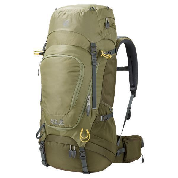 Backpack Zaino JACK WOLFSKIN Highland Trail XT 50 Zaino Trekking Escursionismo Viaggio