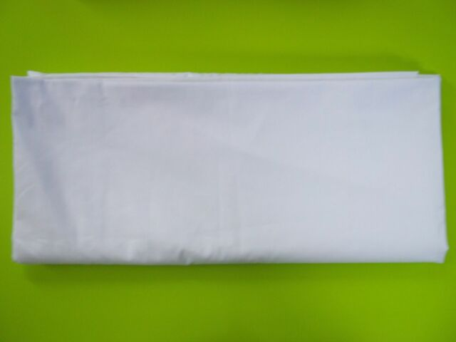 12 COTTON RICH WHITE FULL XL SIZE 81X115 FLAT RESORTS HOTEL BED SHEETS T-200 CVC