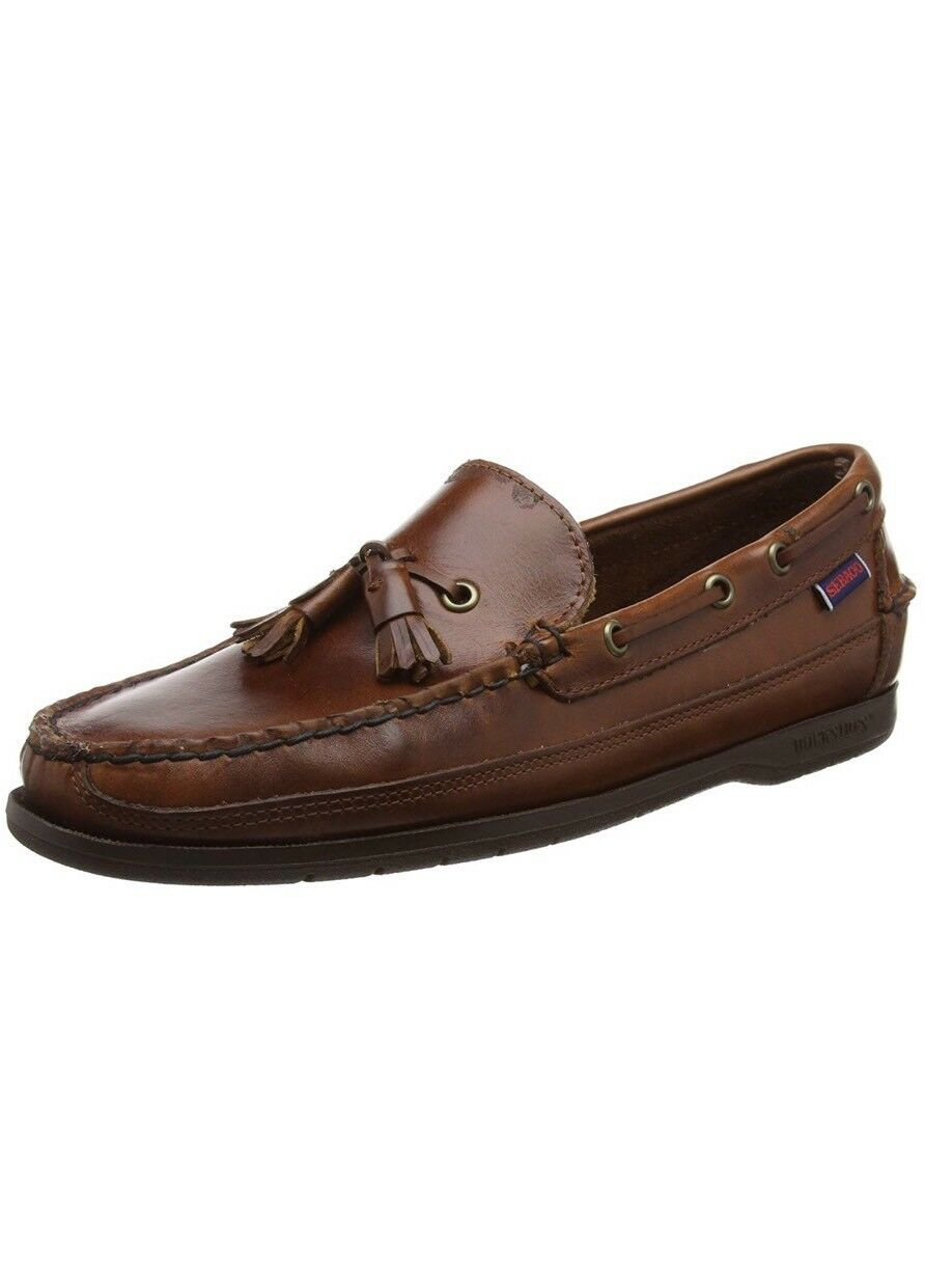 Sebago Men's Ketch Loafers  Brown UK 12.5 EU 48 US 13