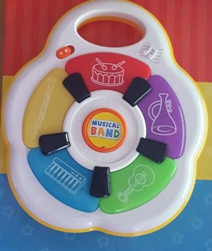 322332 First Steps Music Making Lights Up Activity Fun Play Toy