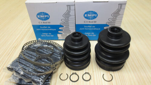 Rear Inner /& Outer CV Axle Boot Kit for Yamaha Rhino 660 w// 4x4 2005 2006 2007