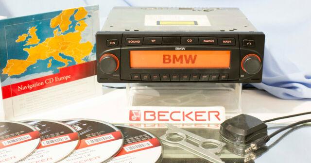 Becker BMW Indianapolis 7969 Navi CD Radio Komplett Set