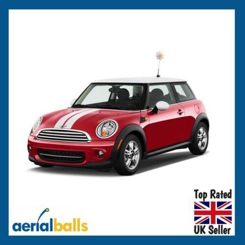 BEST SELLER Cute White Daisy Flower Car Aerial Ball Antenna Topper