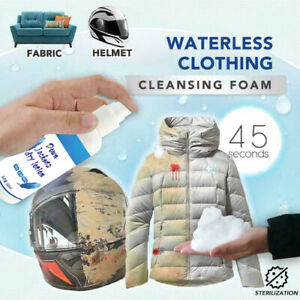 Peachy Details About Waterless Clothing Cleansing Foam 100Ml Shoes Sofa Cleaner Home Interior And Landscaping Pimpapssignezvosmurscom