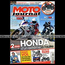 MOTO JOURNAL N°1980 TRIKE EML HONDA CBR 1000 RR & NC 700 X BENELLI TORNADO 650 S