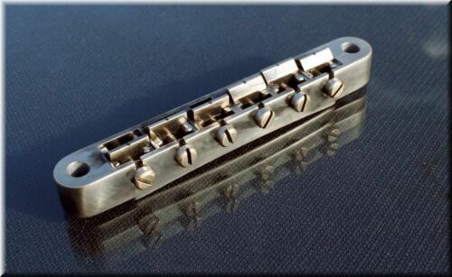 Faber ABRM-59-NA ABR Bridge fits 4mm studs for Asian Guitars Nickel Aged 3060-1