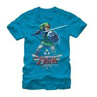 Official Nintendo Legend Of Zelda Skyward Sword Mens Womens T-shirt Link Shield