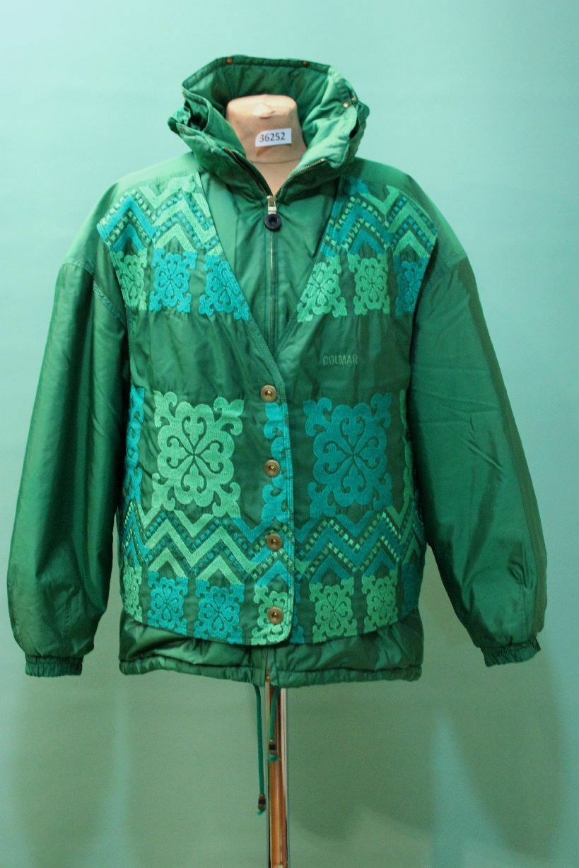 COLMAR Ski Anzug Jacke Hose grün Gr 36 S Damen Winter TOP