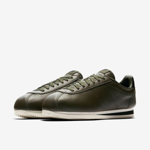 da Uk7 861677 300 Premium 5 Leather Nike Cortez Eu42 uomo Classic Cm26 5 Green qnwtxH4Y