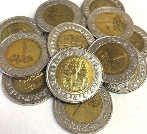 2005-2018 type KM#940a KING TUT Pharaoh Egyptian Mummy coin Egypt 1 Pound