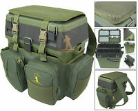 Fishing Seat Box & Rucksack Fly Sea Fishing Seat Back Pack Ruck Sack Roddarch